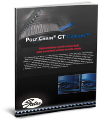 GATES POLY CHAIN GT CARBON