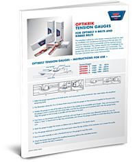 Optibelt OPTIKRIK Tension Instructions PDF