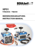 HP01 Instruction manual de/en/fr/es