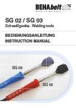 SG02/SG03 Instruction manual