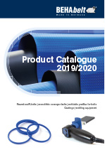 BEHAbelt Product Catalogue 2019 / 2020